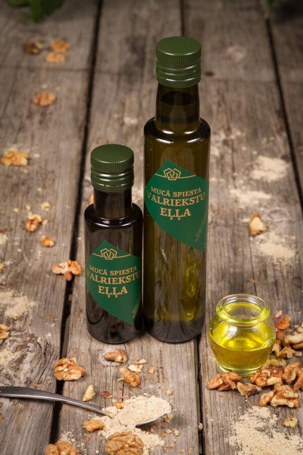 Mucā spiesta Valriekstu eļļa + dāvana