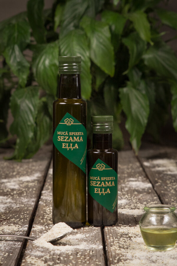 Mucā spiesa Sezama eļļa + dāvana