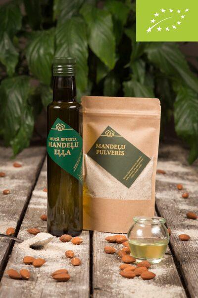 Mucā spiesta Mandeļu eļļa + dāvana